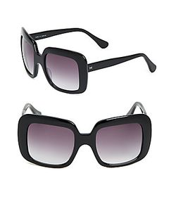 Halston | 54mm Square Sunglasses