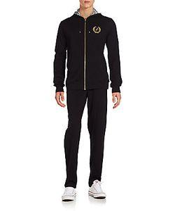 Billionaire Boys Club | Reversible Printed Silk Solid Cotton Hoodie Sweatpants Set