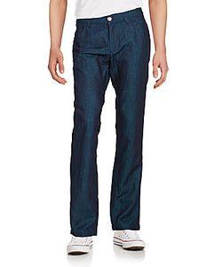 Billionaire Boys Club | Cotton Linen Blend Straight-Leg Jeans