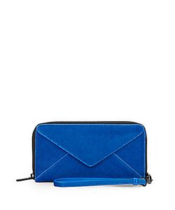 Loeffler Randall | Zip Walletelectric Blue Haircalf