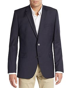 Hugo Hugo Boss | Aerins Regular-Fit Virgin Wool Sportcoat