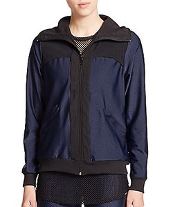 Koral | Hooded Contrast Zip-Up Jacket