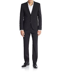 Hugo Hugo Boss | Aeron/Hamen Regular-Fit Tonal Checked Virgin Wool Suit