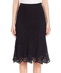 Derek Lam | Silk Blend Lace Skirt