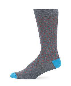 Saks Fifth Avenue | Printed Colorblock Socks