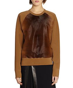 Reed Krakoff | Calf Hair Front Sweater
