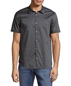 John Varvatos | Printed Casual Button-Down Cotton Shirt