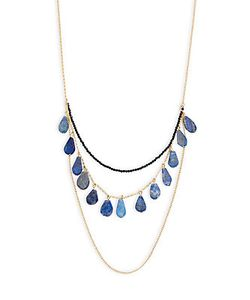 MHART | Lapis Sterling Layered Necklace
