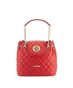 Love Moschino | Diamond-Quilted Shoulder Bag