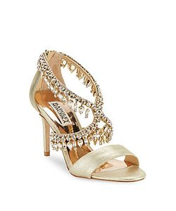Badgley Mischka   Grammy Ii Leather Sandals