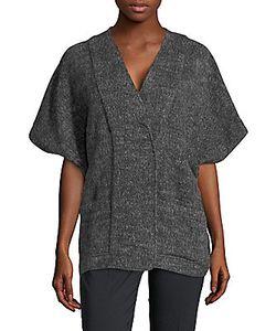 Zero + Maria Cornejo | Saban Oversized Short-Sleeve Jacket