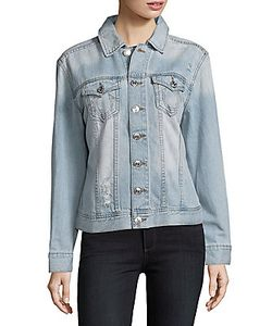 True Religion | Distressed Cotton Denim Jacket