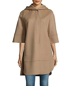 Derek Lam | Solid Hooded Cape