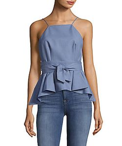 C/Meo | Take Me Over Peplum Top