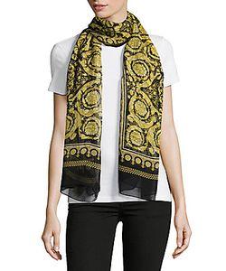 Versace | Stola Printed Silk Scarf