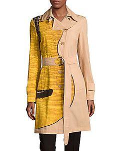 Akris | Cotton Colorblock Coat
