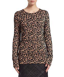 Lanvin | Leopard Knit Sweater