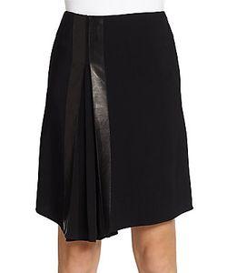 Reed Krakoff | Matte Asymmetrical Hem Skirt