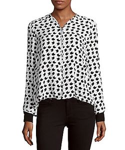 Derek Lam | Printed Silk Jacket
