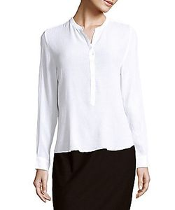 Zadig & Voltaire | Solid Button-Front Top