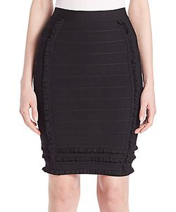 Yigal Azrouel | Ruffled Pencil Skirt