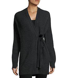 Helmut Lang | Textured Wool-Blend Cardigan