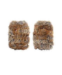 Jocelyn | Fingerless Rabbit Fur Gloves