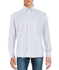 Brioni | Plaid Button-Up Shirt
