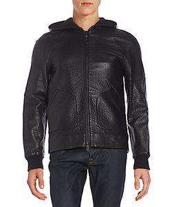 Mackage | Grayson Pebbled Leather Jacket