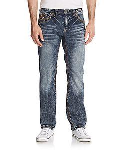 Affliction | Blake Standard Acid Wash Straight Leg Jeans