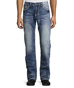 Affliction | Blake Standard Straight-Leg Jeans