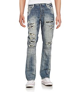 Prps | Hydrus Demon Ripped Crosshatch Jeans