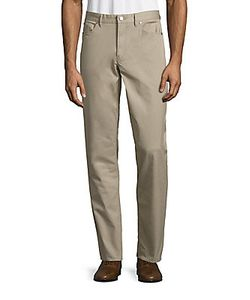 Michael Kors | Tailored Cotton Twill Pants