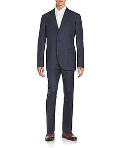 Brunello Cucinelli | Regular-Fit Check Wool Suit