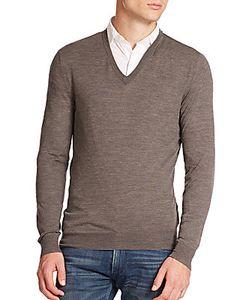 Ralph Lauren Black Label | Merino V-Neck Sweater