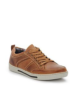 Steve Madden | Paneled Leather Sneakers