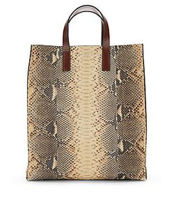 Michael Kors Collection | Snakeskin Tote
