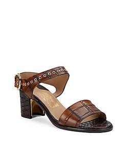 Salvatore Ferragamo | Leather Heel Sandals