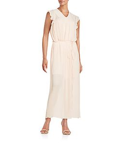 See by Chloé | Pleated V-Neck Gown