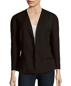 Narciso Rodriguez | Solid Long Sleeve Blazer