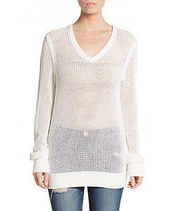 Equipment | Cecile Cotton Cashmere V-Neck Sweater
