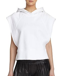Rag & Bone | Roni Short-Sleeve Cotton Hoodie
