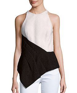 J. Mendel | Colorblock Sleeveless Top