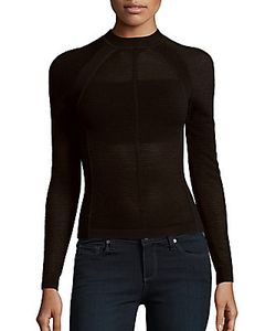 Narciso Rodriguez | Long Sleeve Corduroy Top