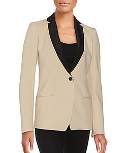 Narciso Rodriguez | One-Button Virgin Wool Blend Blazer
