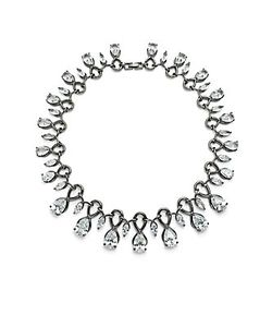 Noir | Cubic Zirconia Crystal Necklace