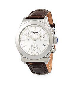 Salvatore Ferragamo | Stainless Steel Leather Strap Watch