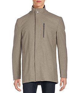 Michael Kors | Textured Long Sleeve Jacket