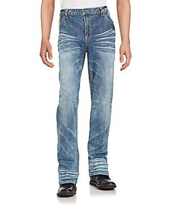 Affliction | Cotton Blend Faded Jeans