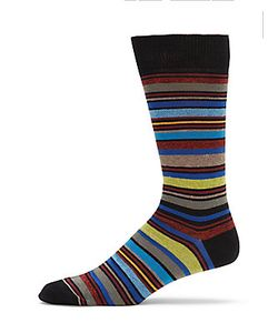 Saks Fifth Avenue | Mid Calf Cotton-Blend Socks